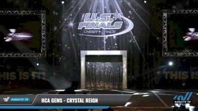 HCA Gems - Crystal Reign [2021 L1 Junior - Medium Day 1] 2021 The U.S. Finals: Louisville
