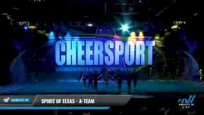 Spirit of Texas - A-Team [2021 L6 Senior - Medium Day 2] 2021 CHEERSPORT National Cheerleading Championship