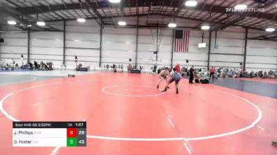 180 lbs Prelims - Jackson Phillips, Ohio Titan Purple vs Drew Foster, FCA Wrestling