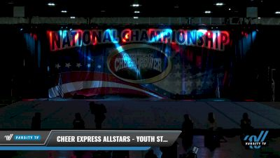 Cheer Express Allstars - Youth Stars [2021 L1.1 Youth - PREP Day 1] 2021 ACP: Tournament of Champions