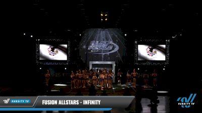 Fusion Allstars - INFINITY [2021 L4 Senior - Medium Day 2] 2021 The U.S. Finals: Louisville