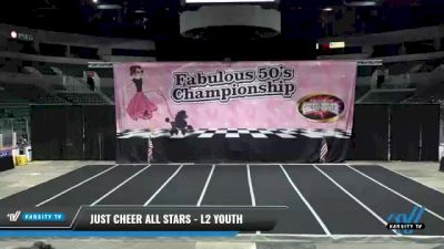 Just Cheer All Stars - L2 Youth [2021 Jungle Cats] 2021 ACP Disco Open Championship: Trenton