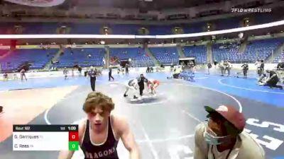 182 lbs 3rd Place - Gunnar Garriques, Tennessee vs Cole Rees, Pennsylvania