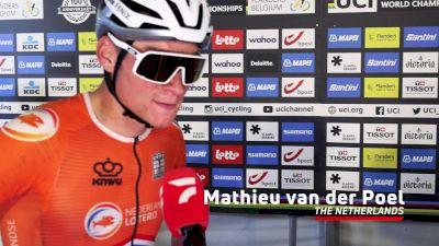 Mathieu Van Der Poel: 'I Didn't Have The Best Preparation'