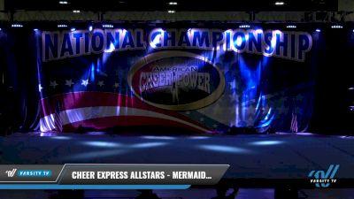 Cheer Express Allstars - Mermaids - Tiny Tot Novice [2021 Exhibition (Cheer) Day 1] 2021 ACP: Tournament of Champions