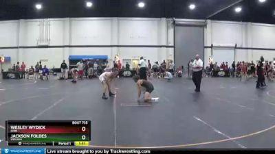 125 lbs Cons. Round 6 - Wesley Wydick, Ohio vs Jackson Foldes, Virginia