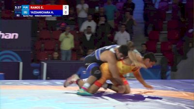 86 kg Quarterfinal - Ethan Ramos, Puerto Rico vs Hassan Yazdanicharati, Iran