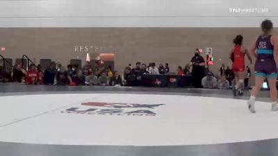 68 kg Rr Rnd 2 - Tiyahna Askew, GA vs Alyvia Fiske, CA
