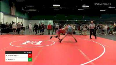 182 lbs Consolation - Kole Mulhauser, NY vs Joseph Martin, CA