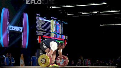 Behdad Salimi (IRI, +105) Snatches 211kg At 2017 IWF Worlds