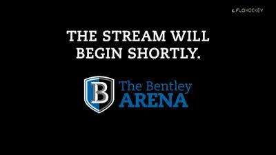 Full Replay: St. Lawrence vs Bentley | Atlantic Hockey