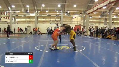 Prelims - Wade Wheeler, Unattached-Campbell vs Tim Warren, Appalachian State