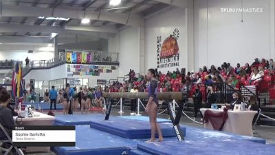 Sophie Garlotte - Beam, Texas Dreams - 2021 Region 3 Women's Championships