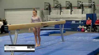 Katelyn Rosen - Beam, Mavericks Gymnastics - 2021 American Classic and Hopes Classic