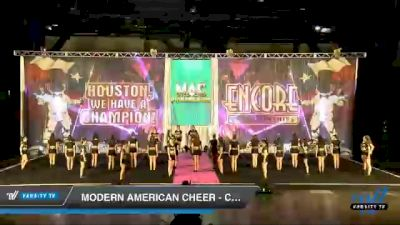 Modern American Cheer - Clarity [2020 L4.2 Senior Coed - D2 Day 1] 2020 Encore Championships: Houston DI & DII