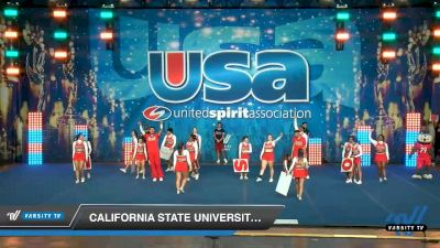 California State University Fresno [2020 Small Co-Ed Show Cheer 4-Year College -- Division I Day 2] 2020 USA Collegiate Championships