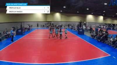 proplay blue vs proplay maggie - 2018 JVA West Coast Cup