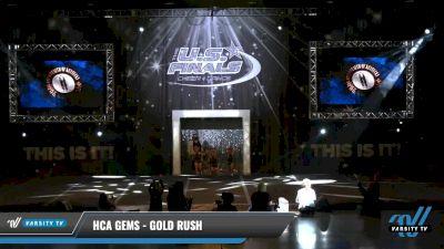HCA Gems - Gold Rush [2021 L1 Tiny - Novice - Restrictions Day 1] 2021 The U.S. Finals: Louisville