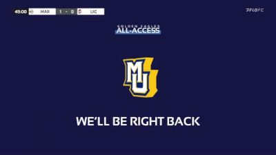 Replay: UIC vs Marquette | Sep 9 @ 7 PM