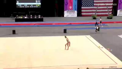 Kristina Palyan - Ribbon, WCC - 2021 USA Gymnastics Championships