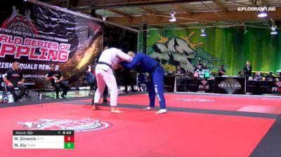 Max Gimenis vs Mahamed Aly World Series of Grappling #2