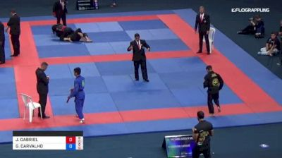JOAO GABRIEL vs GUILHERME CARVALHO 2018 Abu Dhabi Grand Slam Rio De Janeiro