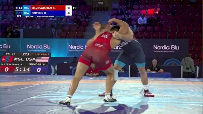 97 kg 1/8 Final - Batzul Ulziisaikhan, Mongolia vs Kyle Snyder, United States