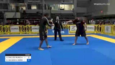 GABRIEL SALLES MUNIZ ALMEIDA vs GUILHERME WILSON S. CORDIVIOLA 2020 American National IBJJF Jiu-Jitsu Championship