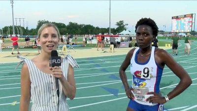 Sharon Lokedi of Kansas Wins 10th Big 12 Title With 5K Victory