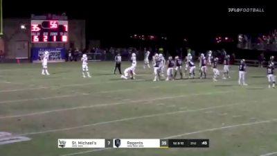 Replay: St. Michael'S HS vs Regents HS - 2021 SMCA vs Regents (Austin) | Sep 24 @ 7 PM