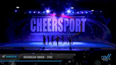 Buckhead Cheer - Lynx [2021 L3 Senior - D2 - Small Day 2] 2021 CHEERSPORT National Cheerleading Championship