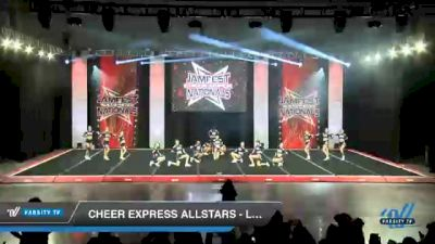 Cheer Express - Lady Camo [2021 L4 Senior - Small Day 2] 2021 JAMfest Cheer Super Nationals