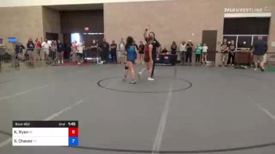 53 kg Semifinal - Katie Gomez, Ca vs Tiare Ikei, Co