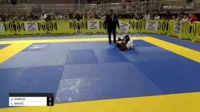 JACOB GARCIA vs LEVI WHITE 2021 Pan Kids Jiu-Jitsu IBJJF Championship
