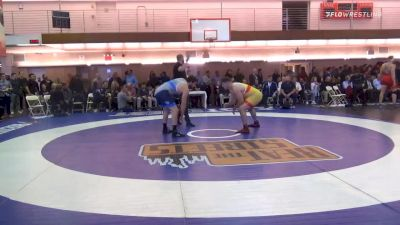 125 kg Prelims - Garrett Ryan, Sunkist Kids Wrestling Club vs Mauro Correnti, New York Athletic Club