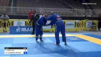 OLEKSANDR KOSTYUK vs NATHANIEL CLARENCE BRYANT 2021 Pan Jiu-Jitsu IBJJF Championship