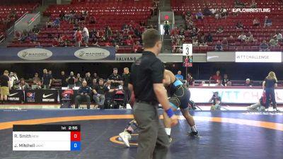 130 lbs Rr Rnd 1 - Robert Smith, New York Athletic Club vs Jacob Mitchell, Unattached