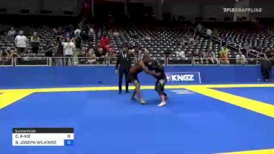 C. ALIKA-KIE WONG vs BRIAN JOSEPH WILKINSON 2021 World IBJJF Jiu-Jitsu No-Gi Championship