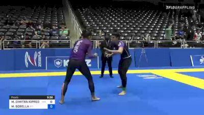 MARIA DIMITRA KIPREOS vs MARIACHIARA BORELLA 2021 World IBJJF Jiu-Jitsu No-Gi Championship
