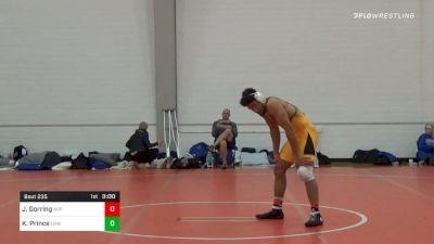 184 lbs Prelims - Julian Gorring, Appalachian State vs Kenneth Prince, Limestone