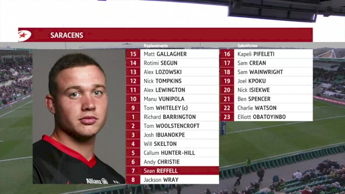 2019 Northampton Saints vs Saracens