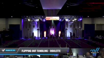 Flipping Out Tumbling - Roulette [2021 L3 Junior - D2 - Small Day 1] 2021 Queen of the Nile: Richmond