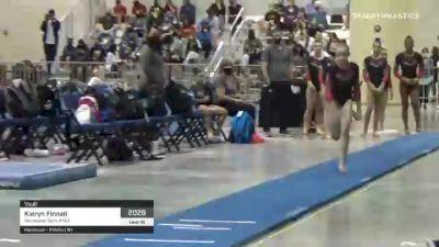 Kieryn Finnell - Vault, Rochester Gym #143 - 2021 USA Gymnastics Development Program National Championships