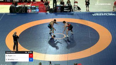 125 lbs Consolation - Garrett Ryan, Sunkist Kids Wrestling Club vs Dominique Bradley, Sunkist Kids Wrestling Club