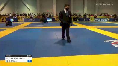 CANDACE LYNN MCNERNY vs DENISE MARIE ROMERO-RYAN 2021 American National IBJJF Jiu-Jitsu Championship