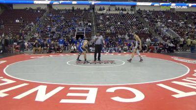152 lbs Final - Shane Miller, Southern Columbia Area Hs vs Jordan Decarmen, Reynolds Hs