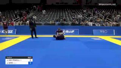 JAYLON RAY POWELL vs JORGJI QIRO 2021 World IBJJF Jiu-Jitsu No-Gi Championship
