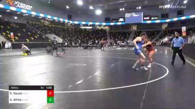 180 lbs Final - Sabrina Nauss, Michigan Revolution vs Alivia White, Washington