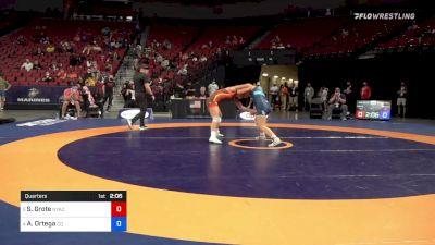 65 kg Quarters - Skylar Grote, New York Athletic Club vs Ashlynn Ortega, Colorado