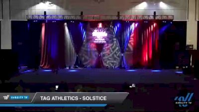 TAG Athletics - Solstice [2021 L2 Junior - D2 - Medium Day 2] 2021 The American Royale DI & DII